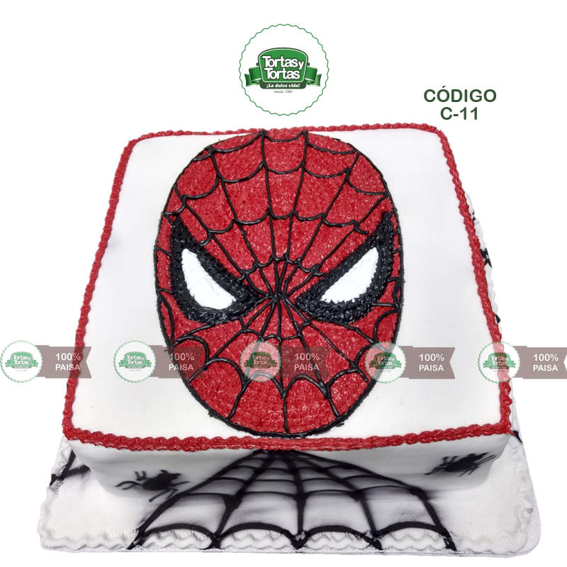 Torta-Spiderman